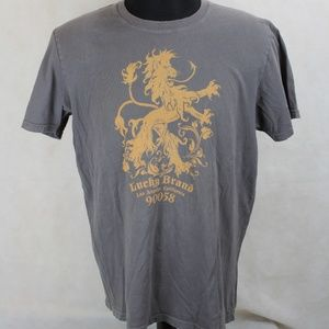 Lucky Brand Classic Fit Lion T-shirt